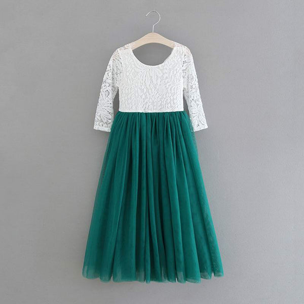 Eleanor dress in green