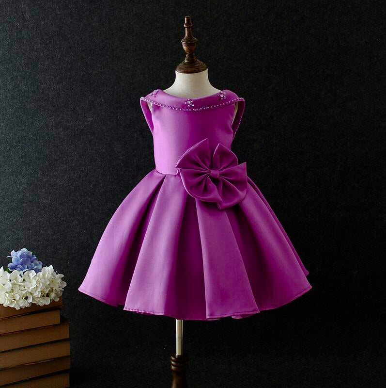 Caroline dress in purple