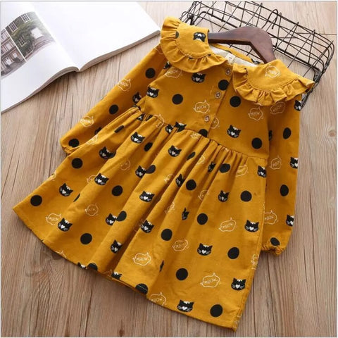 Yellow Margarett  dress