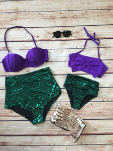 Mommy and Me mermaid bikini