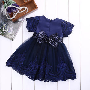 Caitlyn princess dress in navy
