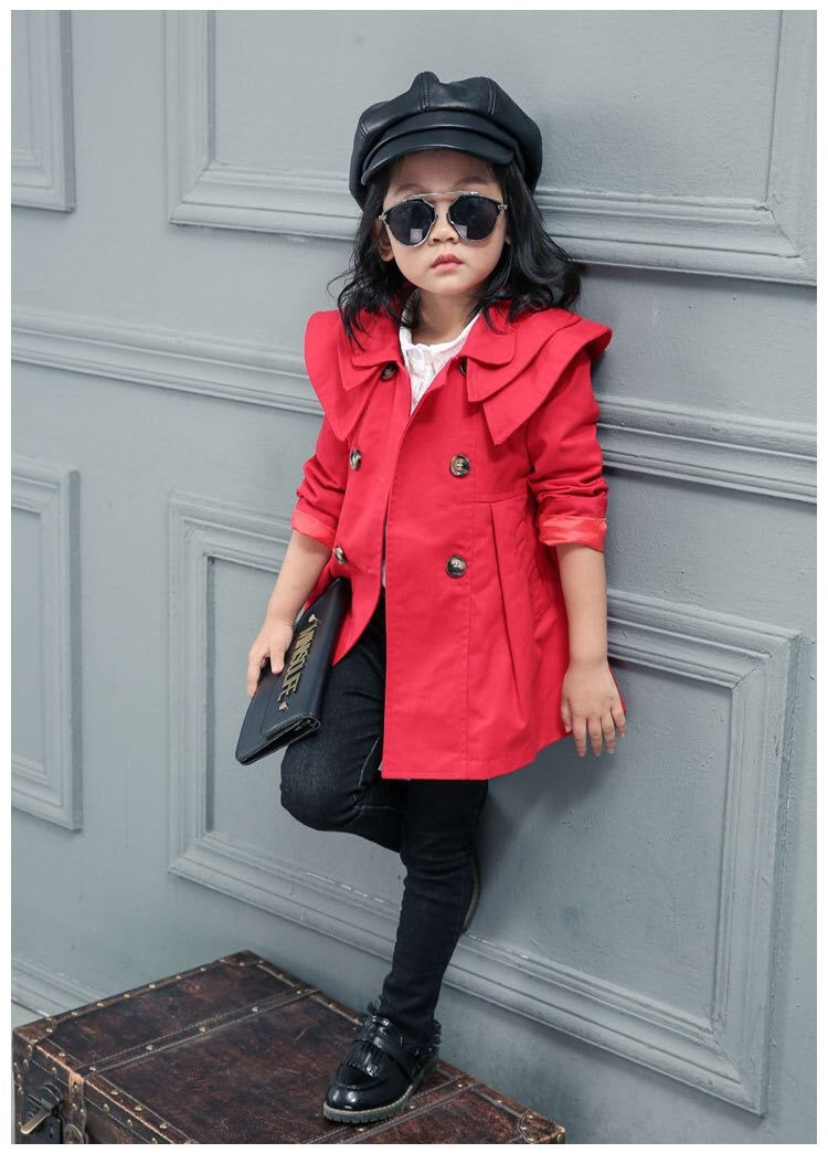 Red/Sasha trench coat