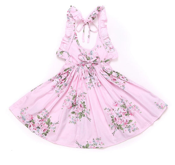 Leah dress in pink