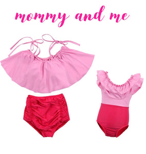 Anastasia mommy and me bikini