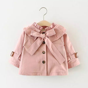 Pink/Ella trench coat