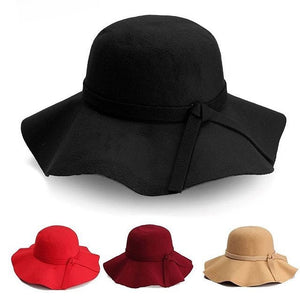 Floppy fashion hats
