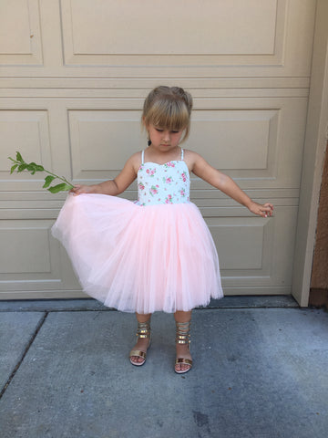 Crystal tutu dress