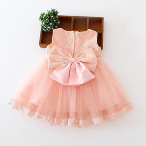 Peachy/Pink Ball gown