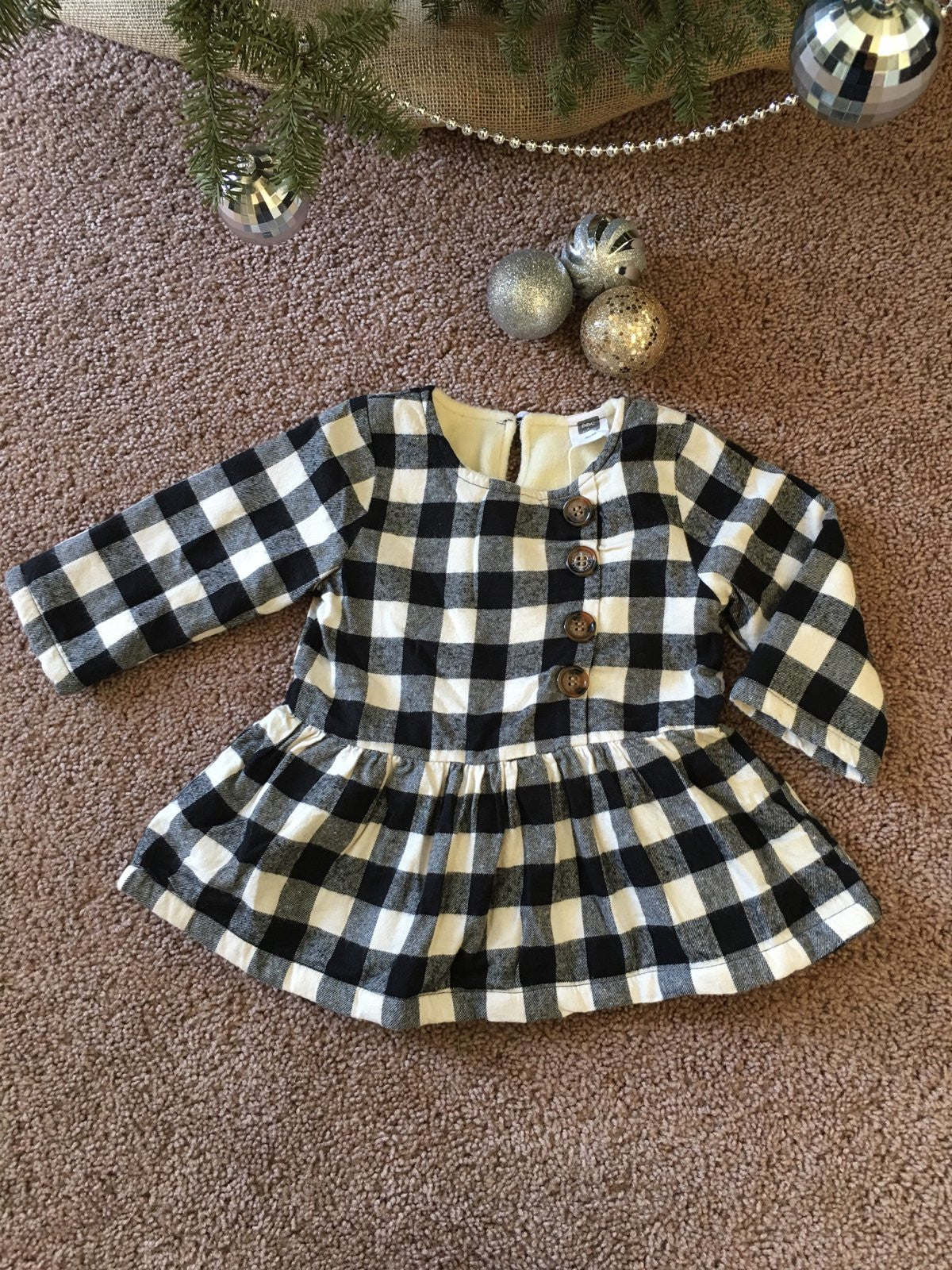 Carolina plaid dress