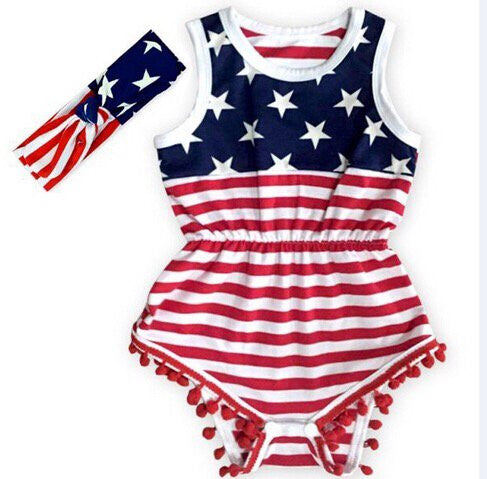 American Girl romper set