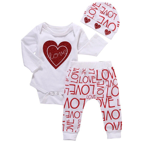 I love you 3pcs set
