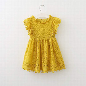 Christina dress in mustard