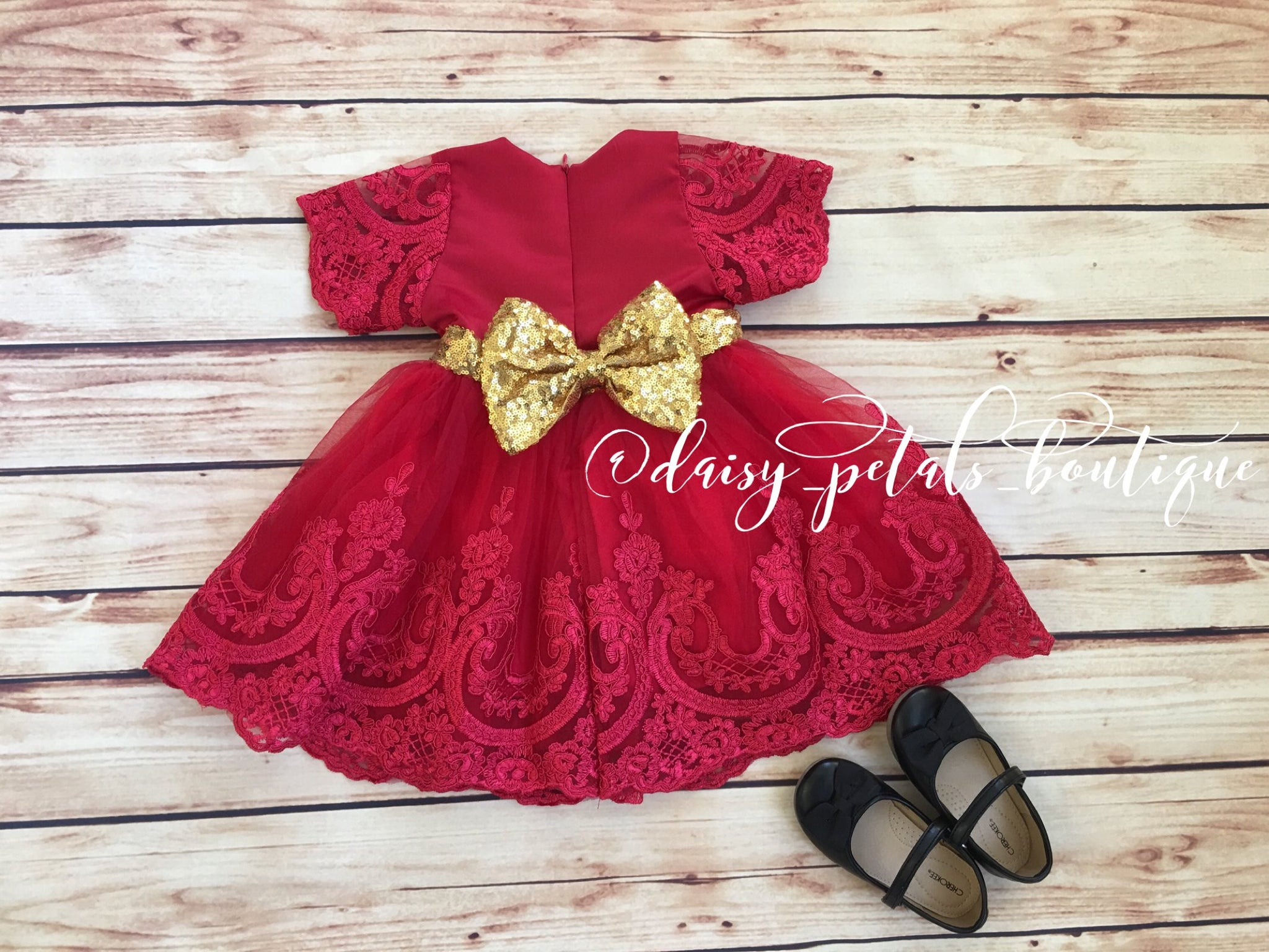Caitlyn princess dress in red