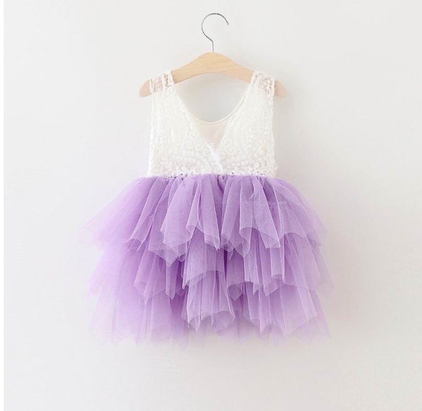 Audrey dress in lavender