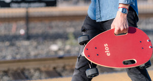 GadgetReview - The Elos Skateboard Is A Compact Urban Cruiser