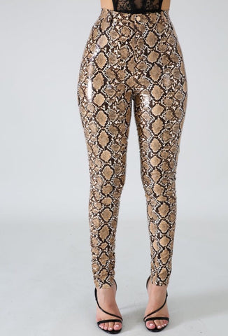The Snakeskin Temptation Wet pants