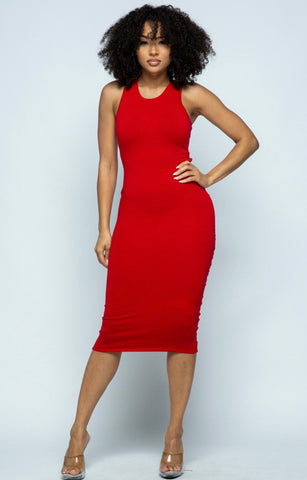 Heart Stopper Midi Dress