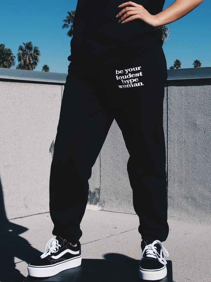BLACK HYPE WOMAN SWEATPANTS