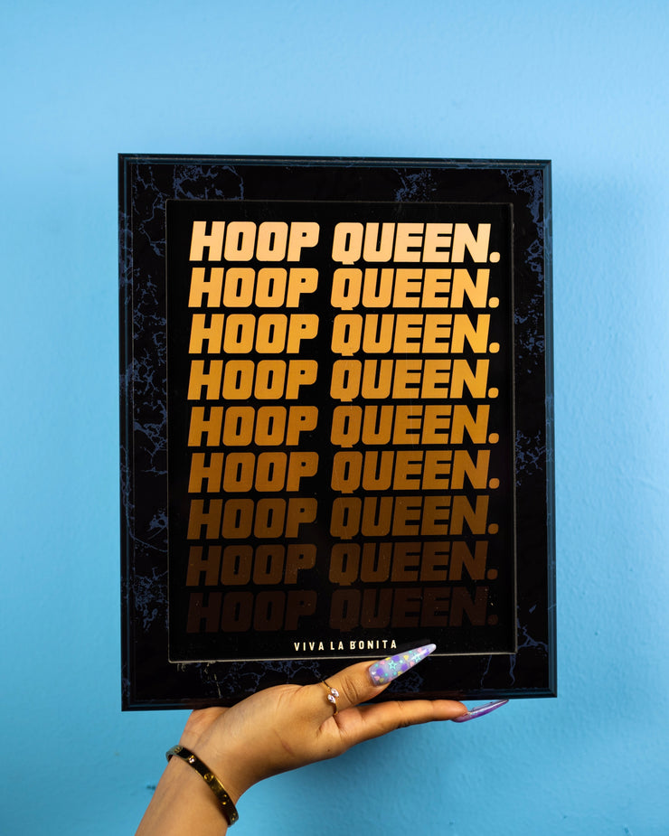 HOOP QUEEN MINI POSTER
