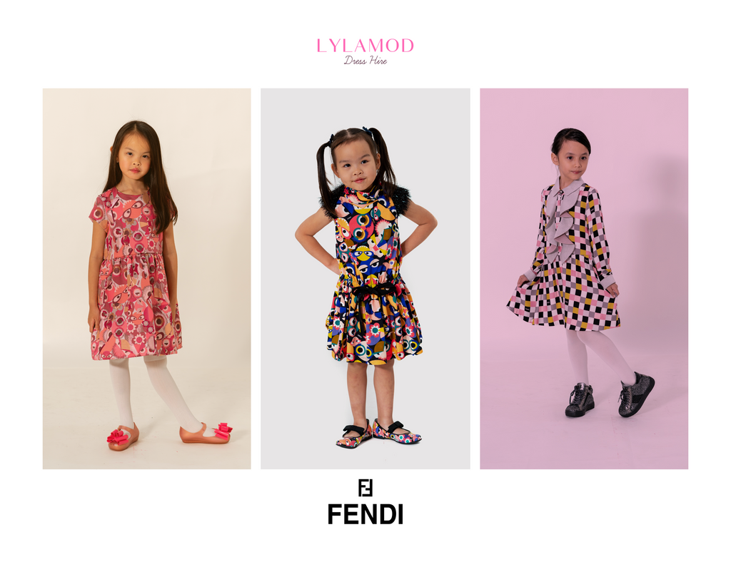 Lylamod Fendi Kids Collection Photoshoot