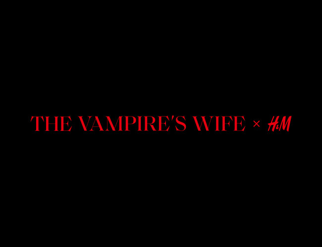 The Vampire's Wife X H&M New Collection