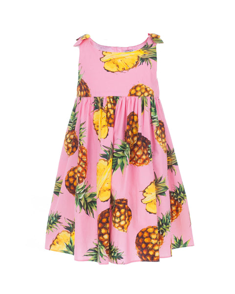 Pineapple Sleeveless Dress