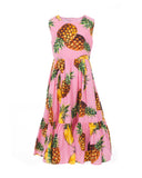 Pineapple Tiered Dress