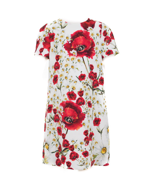 Poppy and Daisy Print Mini-Me Dress