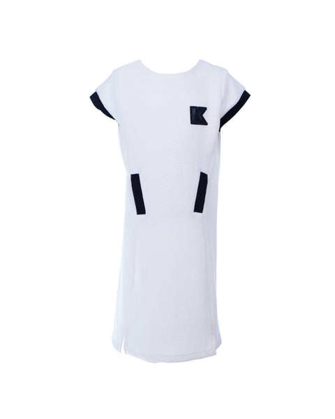 Karl Mini Short-Sleeved Dress