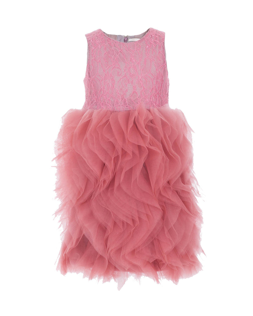 Admiring Pink Avenue Dress