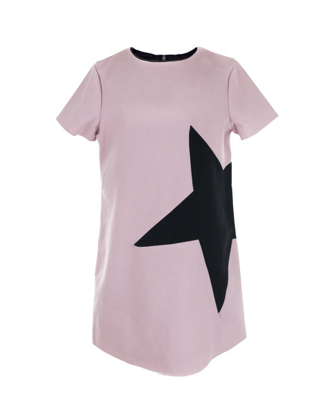 Pink Star Shift Dress
