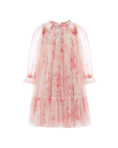 Ruby Bloom Ditsy Mini-Me Dress