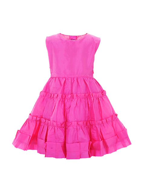 Pink Taffeta Party Dress