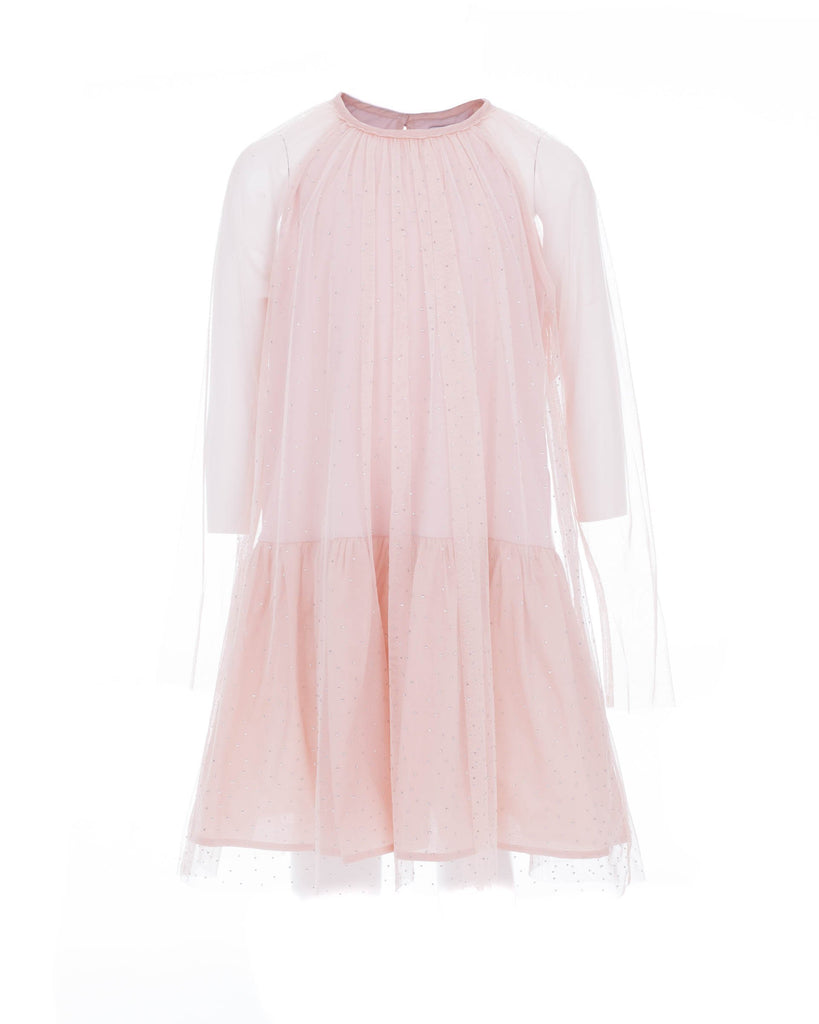 Light Pink Tulle Party Dress