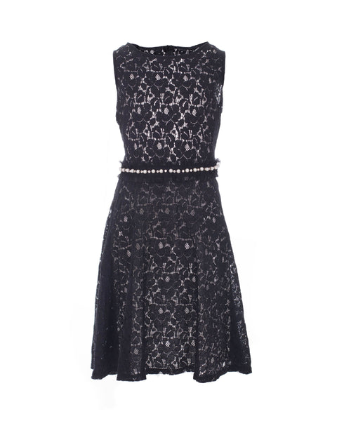 Embelished Lace Party Dress