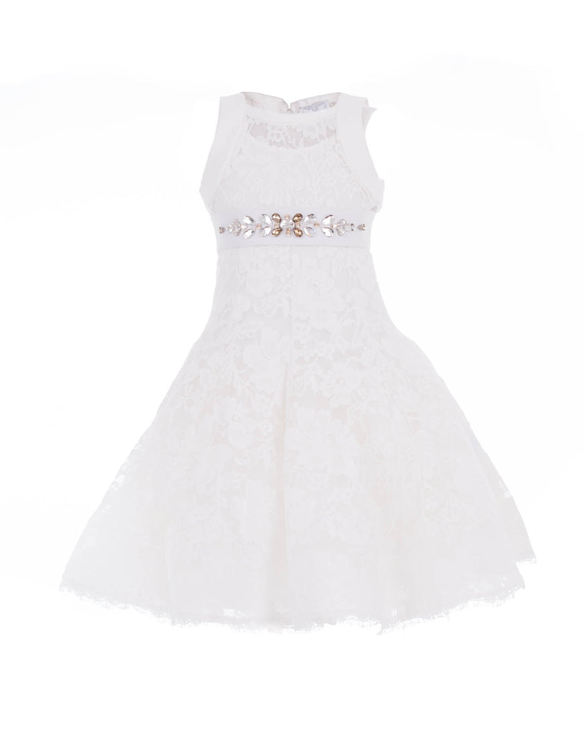 White Ballroom Party Dress