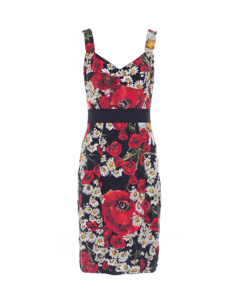 Poppy and Daisy Brocade Dress