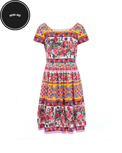 Mambo Print Flared Dress