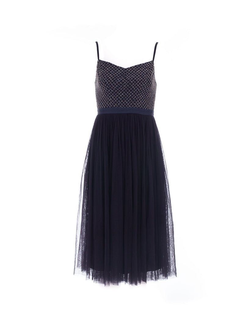 Coppelia Midnight Blue Ballet Dress