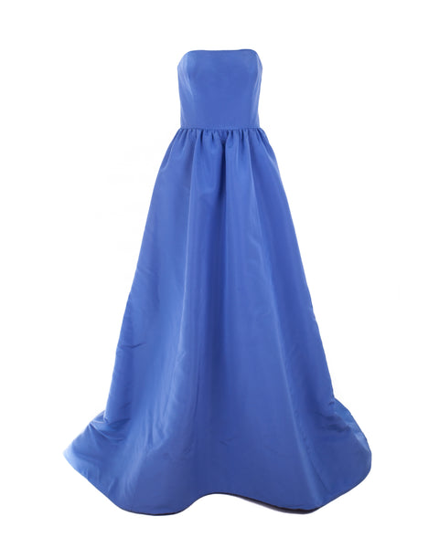 Cornflower Blue Ball Gown
