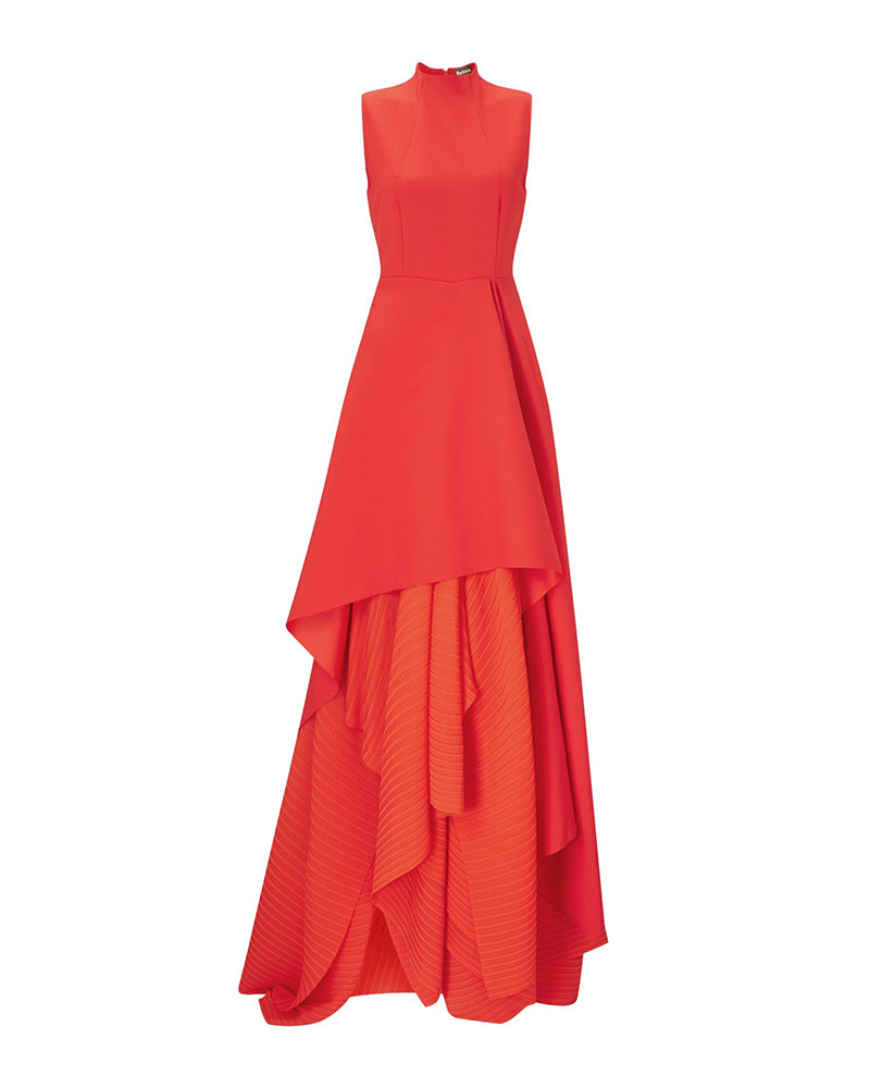 Red Serafine Gown
