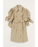 Puff-sleeved Trenchcoat