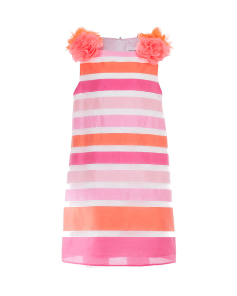 Nelly Striped Taffeta Party Dress