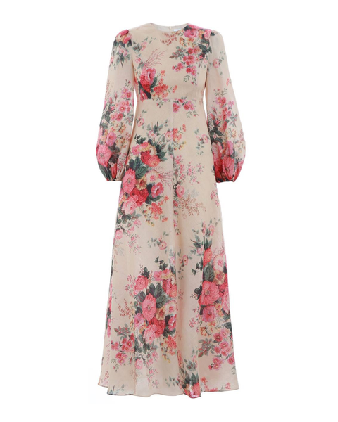 Laelia Long-Sleeved Maxi Dress