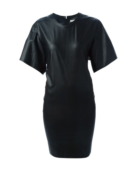 Jadis Faux Leather Dress