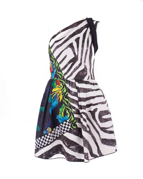 Duchess Zebra Party Dress