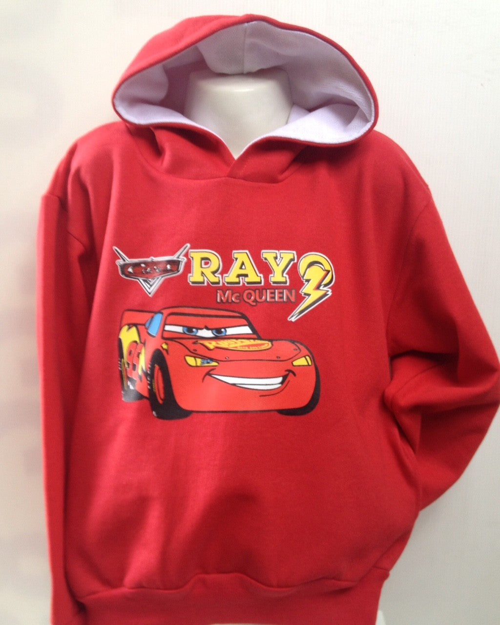 Sudadera Cars Rayo Mc Queen