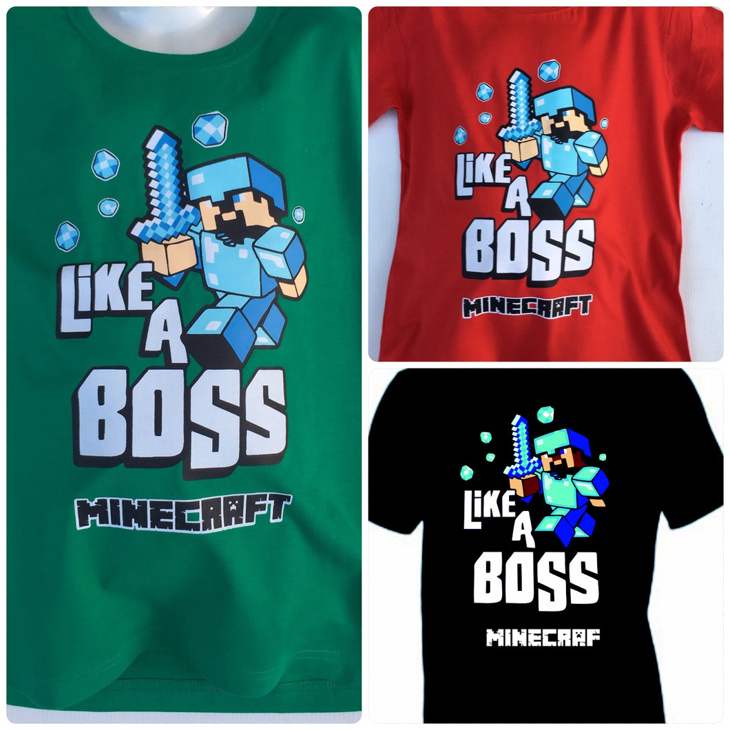 Camiseta Minecraft Like