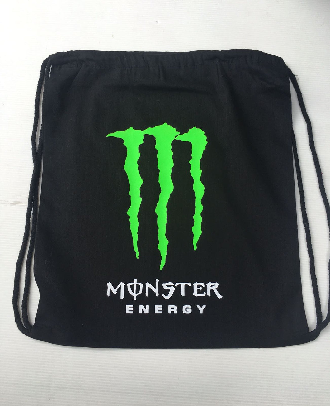 Mochila Algodon Monster Energy