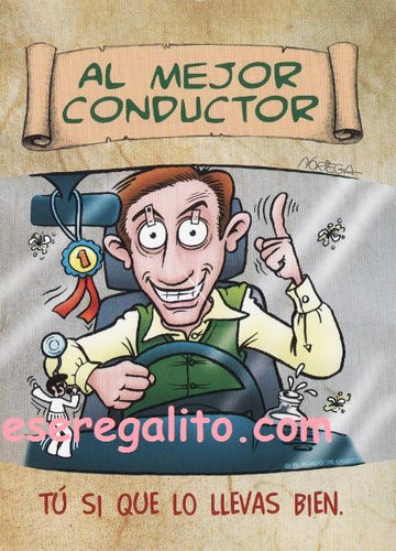 Diploma Mejor Conductor